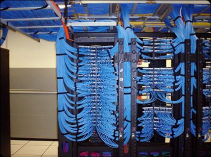 Cat6 Network wires installation